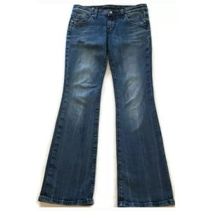 Rerock For Express Bootcut Jeans Stretch Zip Fly